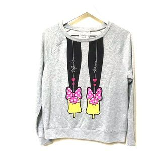 Minnie Mouse Adorable Glittery Sweatshirt